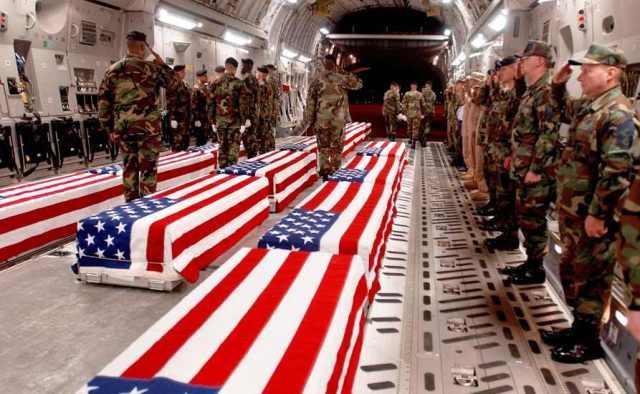Katona áldozatokkal fizet az amerikai nép is a cionista érdekekért vívott háborúban