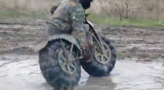 Ultrakönnyű orosz terepmotor