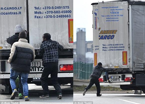 harcban a kamionosokkal