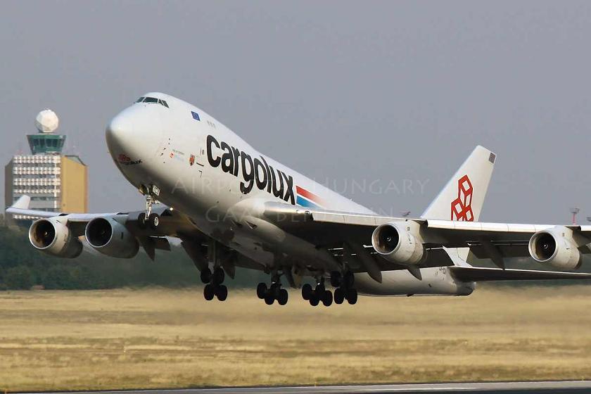 Illusztráció - A Cargolux Ferihegyen