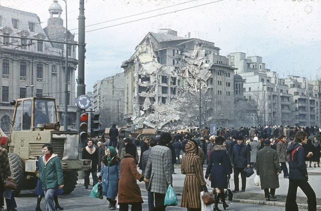 Old Photos of the Bucharest Earthquake in 1977 (1)