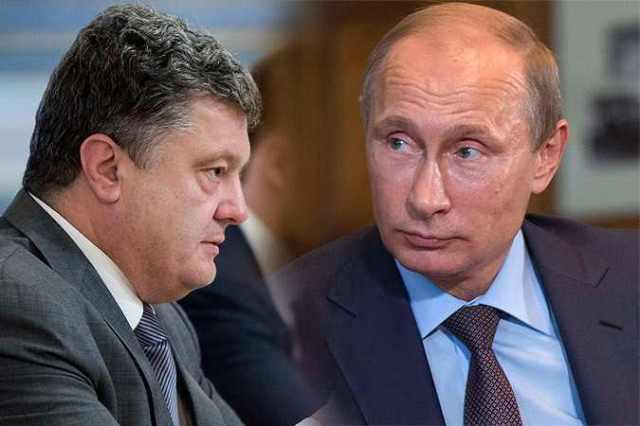 Porosenko és Putyin Fotó Reuters