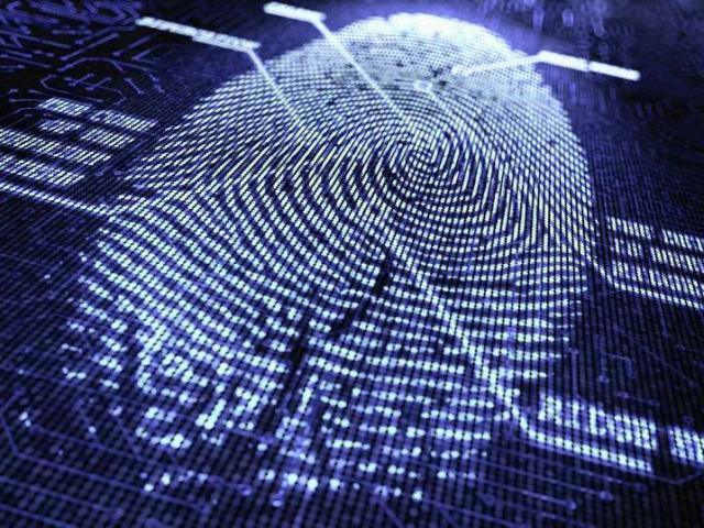 Biometrikus adatfelvétel - ujjlenyomat