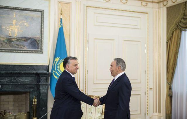 Orbán Viktor; NAZARBAJEV, Nurszultan Abisuli