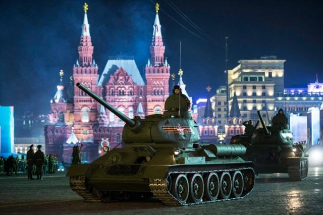 A győzelem napja Oroszországban